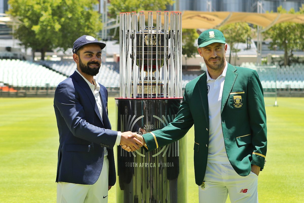 South Africa vs India 2018